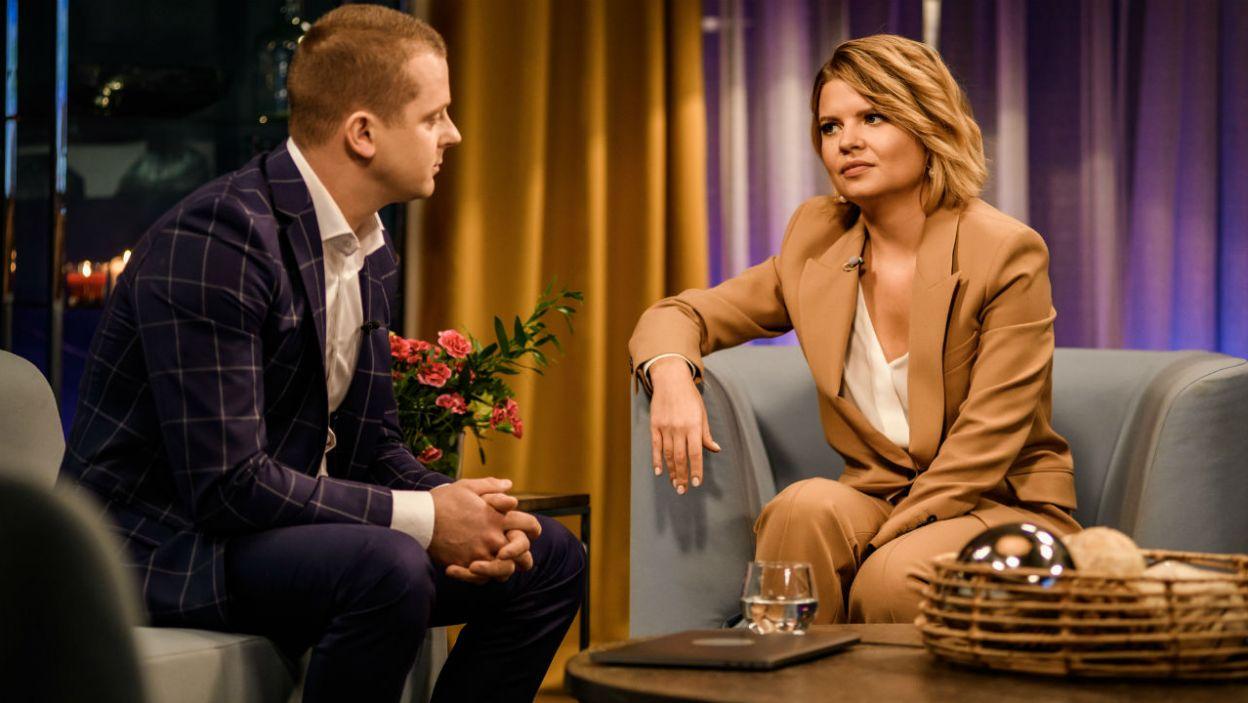 Seweryn wyznał, że obecnie jest w szczęśliwym związku (fot. TVP)