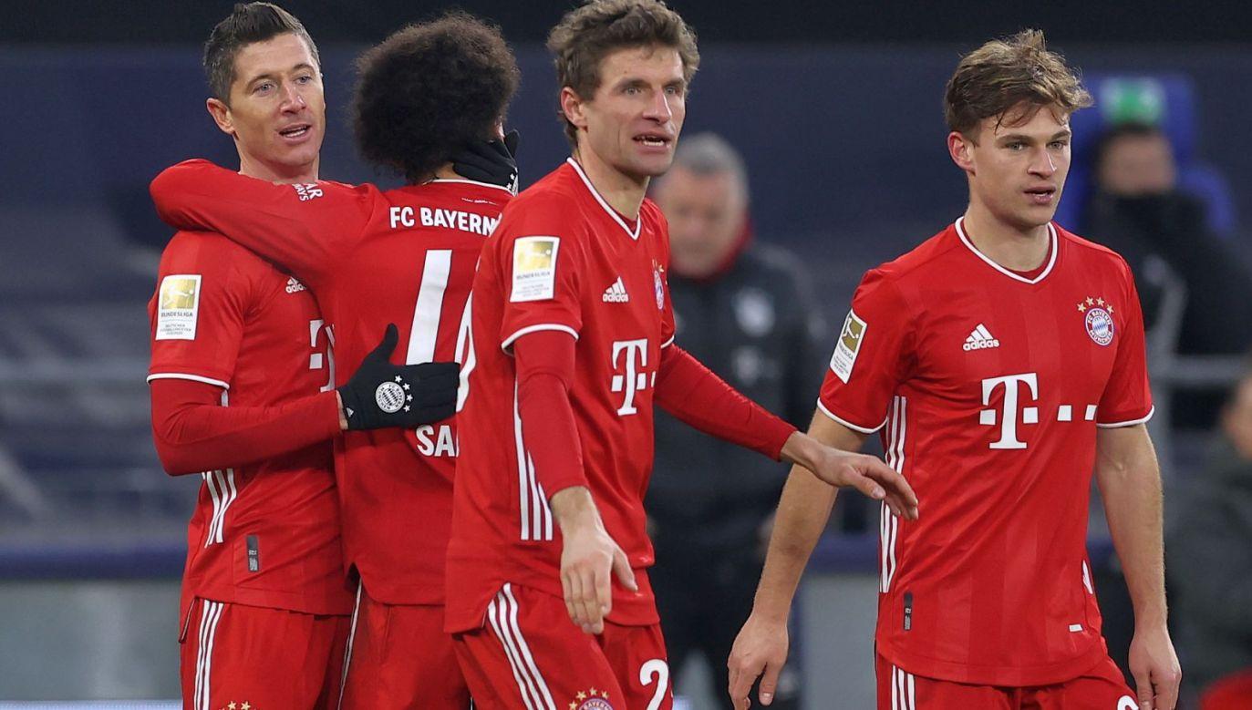 W niedzielę Robert Lewandowski strzelił kolejnego gola w tym sezonie (fot. Getty)