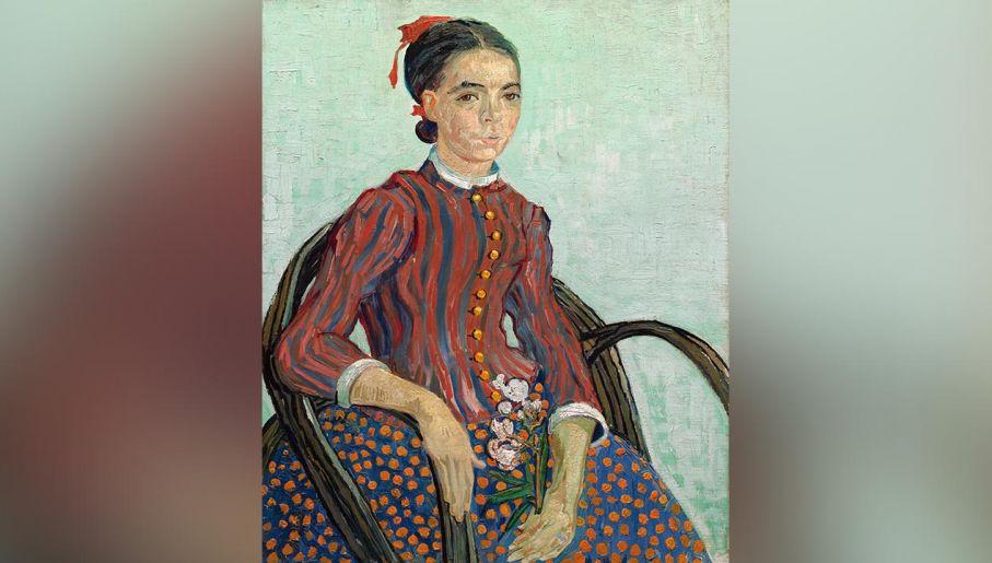 "Obraz Vincenta van Gogha ""La Mousme"" (fot.  Art Images via Getty Images)"